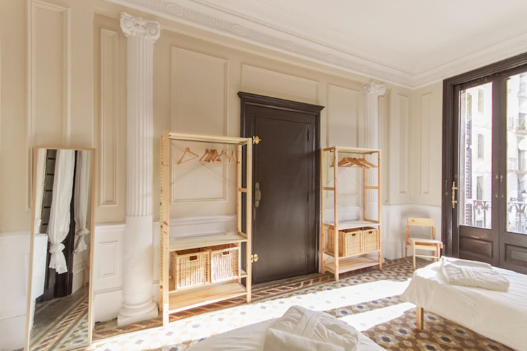 Chambre scandinave par Piedra Papel Tijera Interiorismo Scandinave