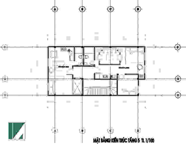CĂN HỘ CHO CHUYÊN GIA THUÊ 7 TẦNG bởi Kiến trúc Việt Xanh