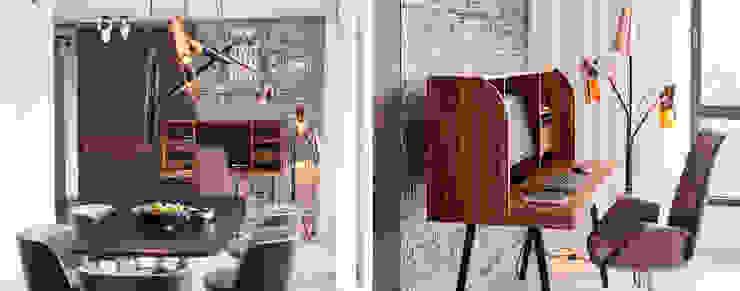 Moderne Wohnzimmer von DelightFULL Modern Kupfer/Bronze/Messing