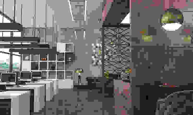 Oficinas y bibliotecas de estilo moderno de VET MİMARLIK Moderno