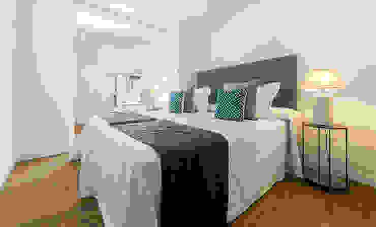 Simetrika Rehabilitación Integral Mediterranean style bedroom