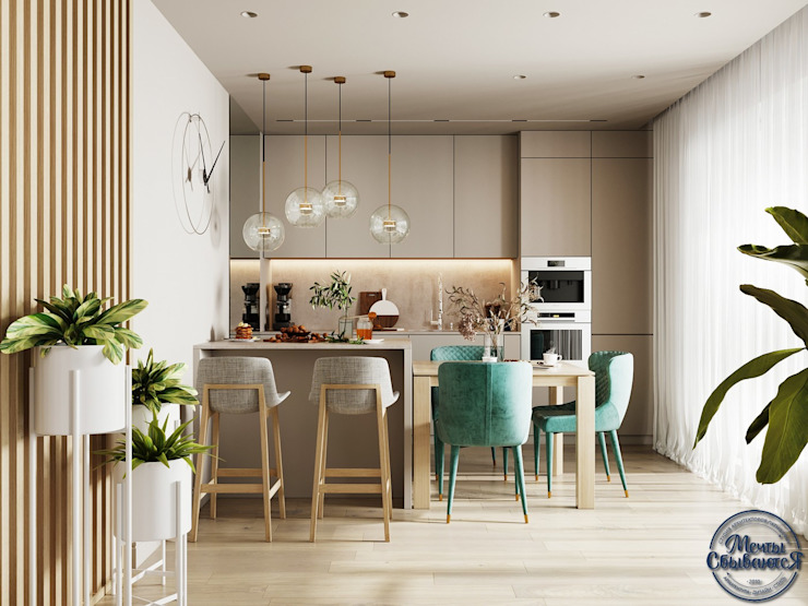 Living room by Компания архитекторов Латышевых 'Мечты сбываются', Minimalist
