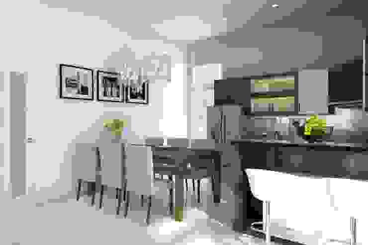 Thiết kế phòng ăn bởi Công ty TNHH Thiết Kế Xây Dựng Song Gia Phát Hiện đại