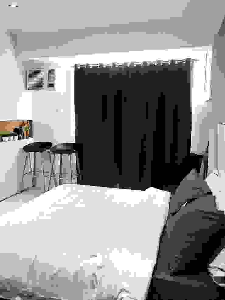 27.12 Residence Scandinavian style bedroom by Pluszerotwo Design Studio Scandinavian