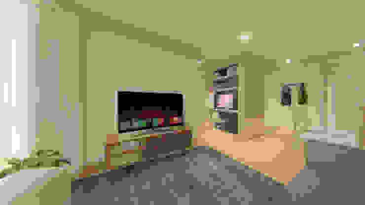 Sala Moderna Livings de estilo moderno de Arquitectos Bogotá | MOAR arquitectos Moderno