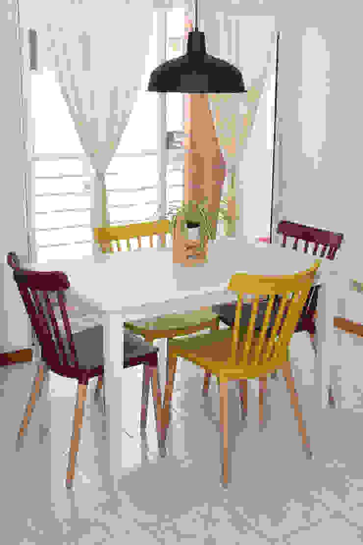 Eklektik Yemek Odası Decó ambientes a la medida Eklektik