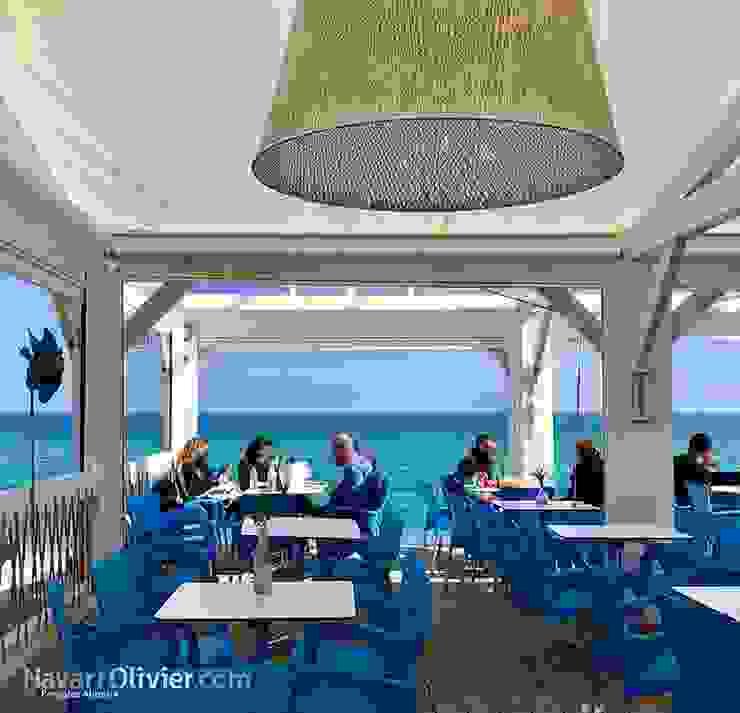 Gastronomi Gaya Mediteran Oleh NavarrOlivier Mediteran Kayu Wood effect