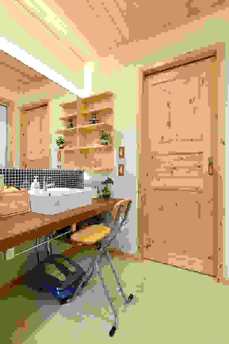 木の家株式会社 ห้องน้ำ ไม้