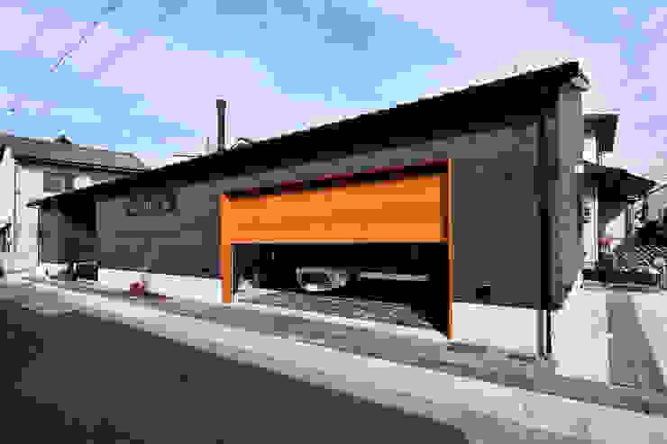 木の家株式会社 โรงรถและหลังคากันแดด ไม้