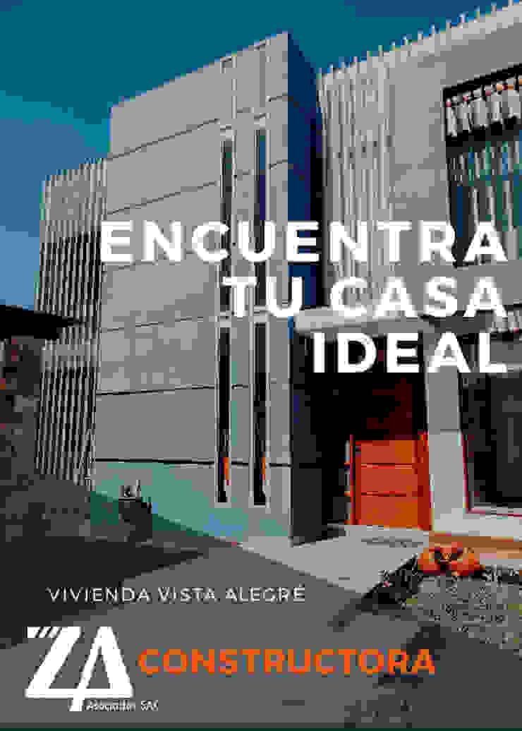 VIVIENDA UNIFAMILIAR VISTA ALEGRE de Estudio de Arquitectos Zulueta y Álvarez SAC Moderno