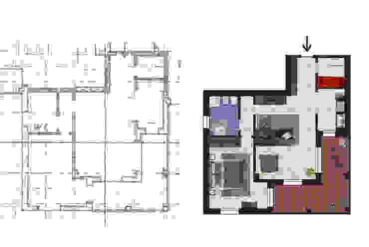 Modern houses by Planimetrie Realistiche Modern