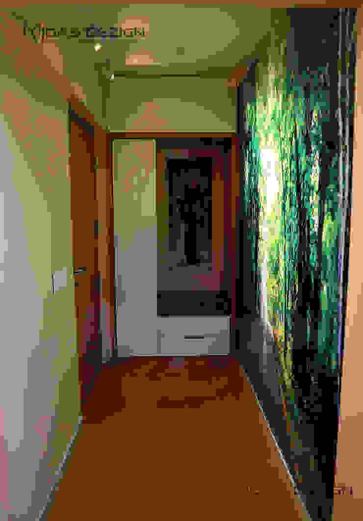 Entrance foyer Minimalist corridor, hallway & stairs by Midas Dezign Minimalist