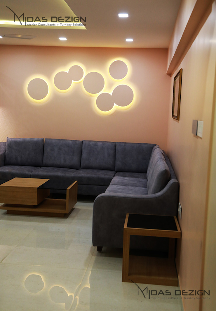 Living room sofa Minimalist living room by Midas Dezign Minimalist