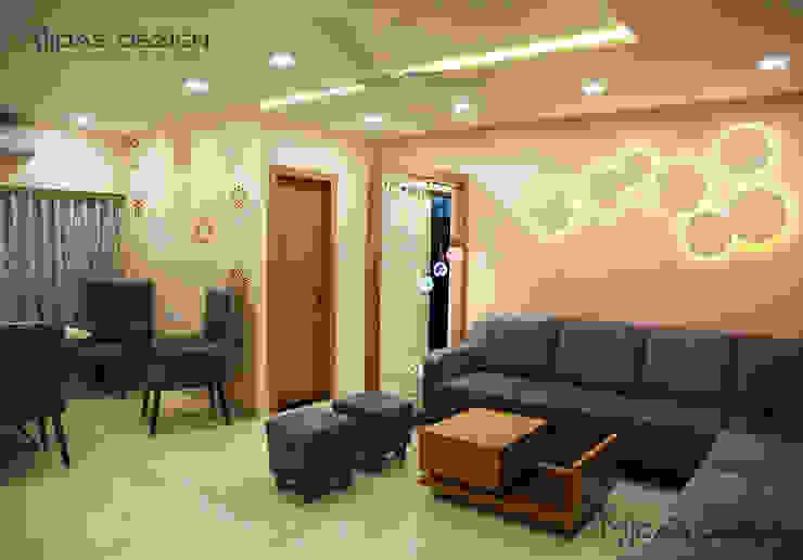 Living room Minimalist living room by Midas Dezign Minimalist