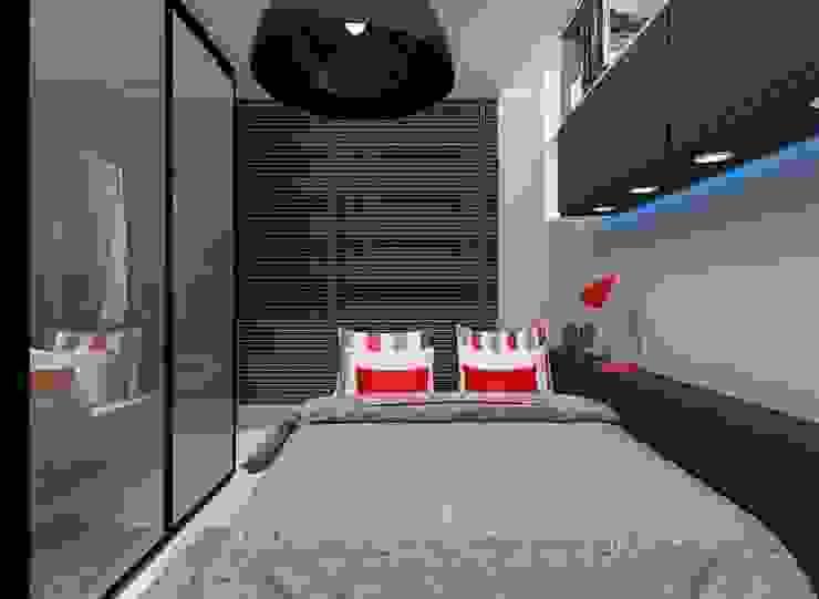 de CaPra Arquitetura e Interiores Moderno Tablero DM