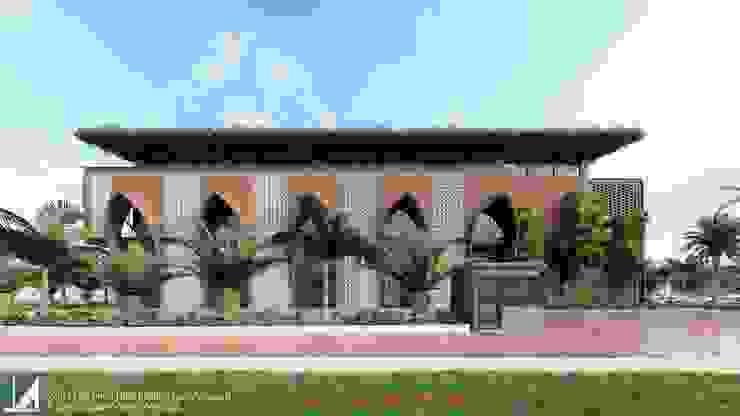 NHÀ HÀNG 2 TẦNG - THỦY NGUYÊN - HẢI PHÒNG bởi Kiến trúc Việt Xanh
