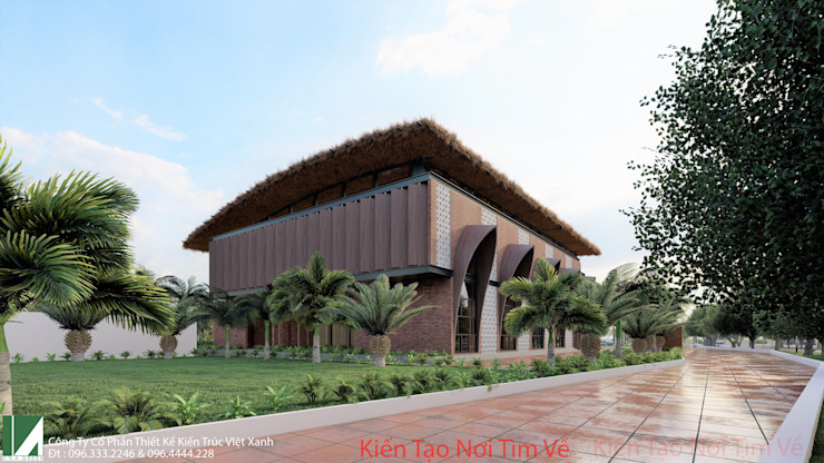 NHÀ HÀNG 2 TẦNG – THỦY NGUYÊN – HẢI PHÒNG bởi Kiến trúc Việt Xanh