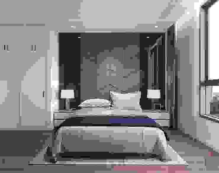 LỰA CHỌN THIẾT KẾ HIỆN ĐẠI VÀ MỚI MẺ NHƯ CĂN HỘ C3 VINHOMES Phòng ngủ phong cách hiện đại bởi ICON INTERIOR Hiện đại
