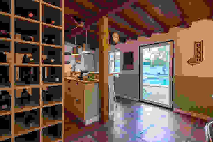 Atelier d'Maison Modern wine cellar