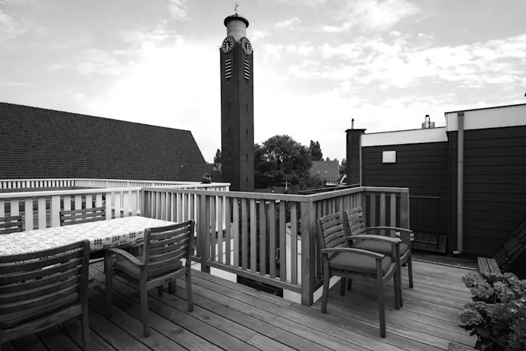 roof terrace Dineke Dijk Architecten Balkon
