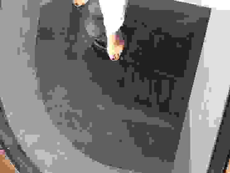 walkable glass above staircase van Dineke Dijk Architecten Klassiek