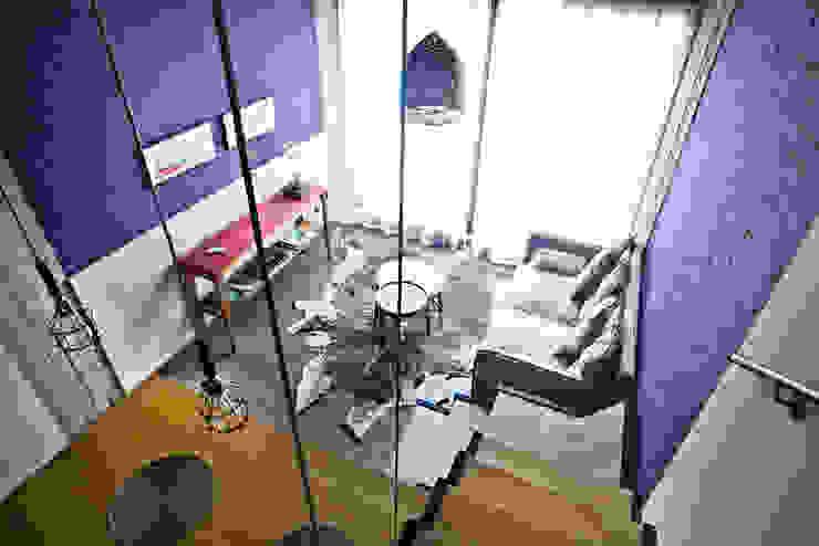 Reforma de un loft: Livings de estilo  por Ba75 Atelier de Arquitectura,Moderno
