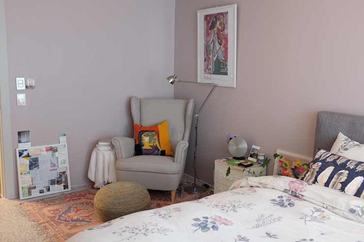 Dormitorios de estilo  por 디아홀스 인테리어