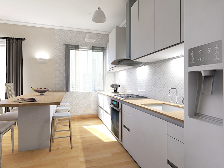Kitchen by Planimetrie Realistiche,