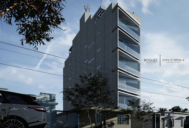 by Roguez Arquitectos Minimalist Reinforced concrete