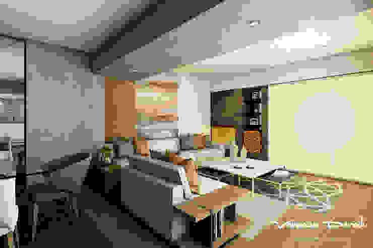 Proyecto de diseño integral- Ambientes Sala, Comedor,Cocina ...