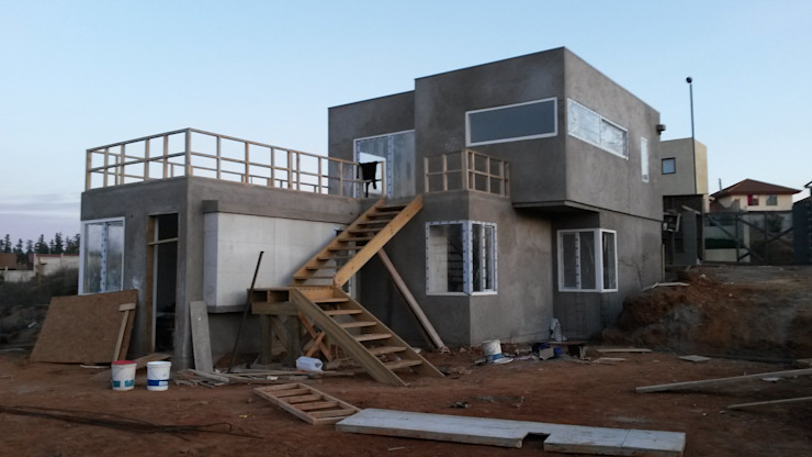 Casa Bucarey de Minimodo Mediterráneo Concreto