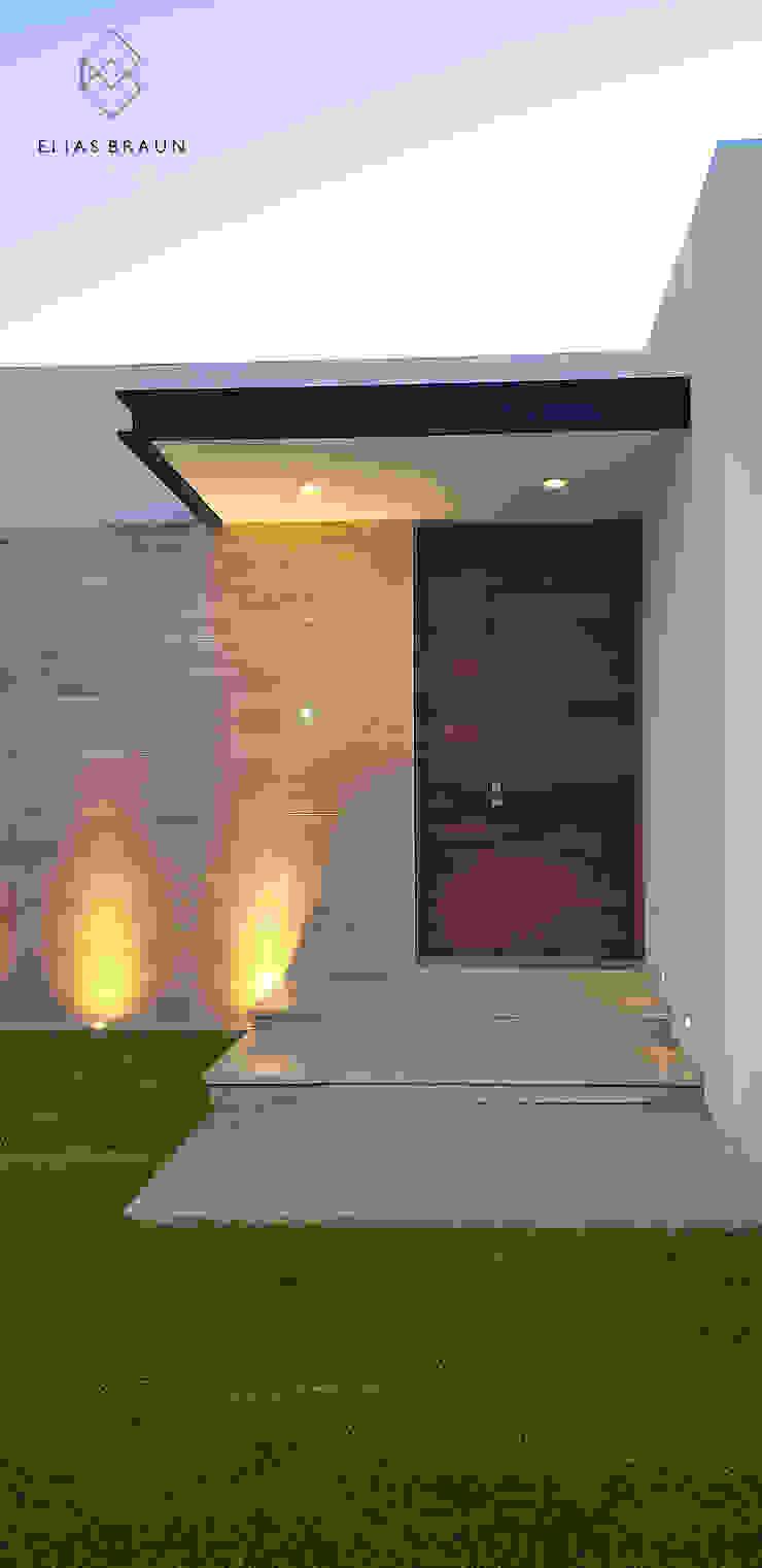Modern style doors by Elias Braun Architecture Modern Wood Wood effect