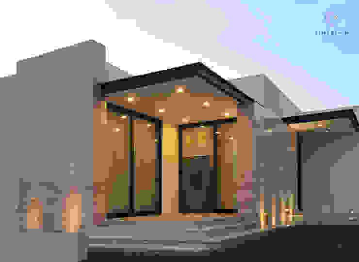 Modern Terrace by Elias Braun Architecture Modern Marble