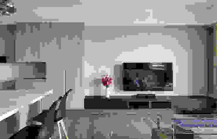 電視牆 根據 元作空間設計 現代風