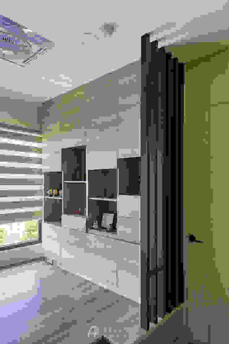 和室收納櫃 根據 元作空間設計 現代風