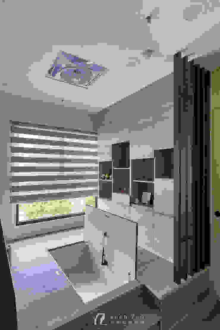 架高和室﹝下面為收納空間﹞ 根據 元作空間設計 現代風