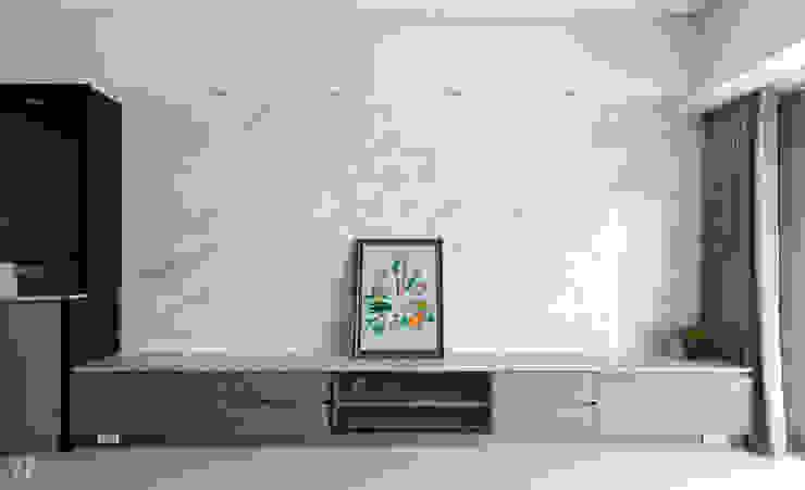 大理石牆面及大理石櫃子檯面 根據 元作空間設計 現代風 大理石
