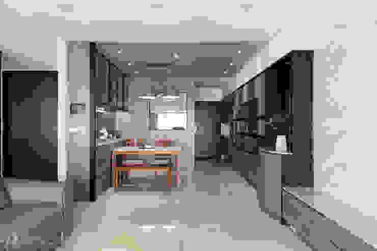 餐廳及玄關 根據 元作空間設計 現代風