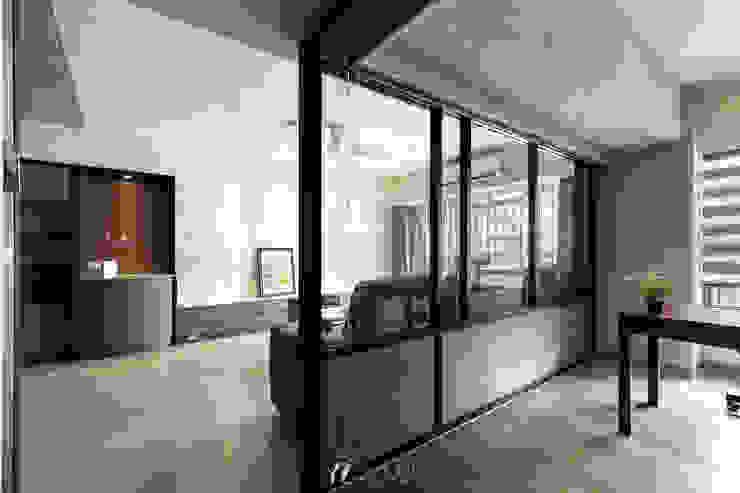 書房/玻璃門框 根據 元作空間設計 現代風