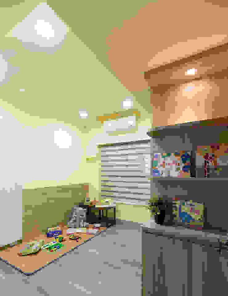 兒童遊戲室 根據 元作空間設計 現代風