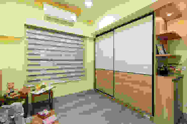兒童遊戲室/衣櫥 根據 元作空間設計 現代風