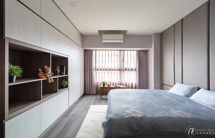 主臥/衣櫥 根據 元作空間設計 現代風