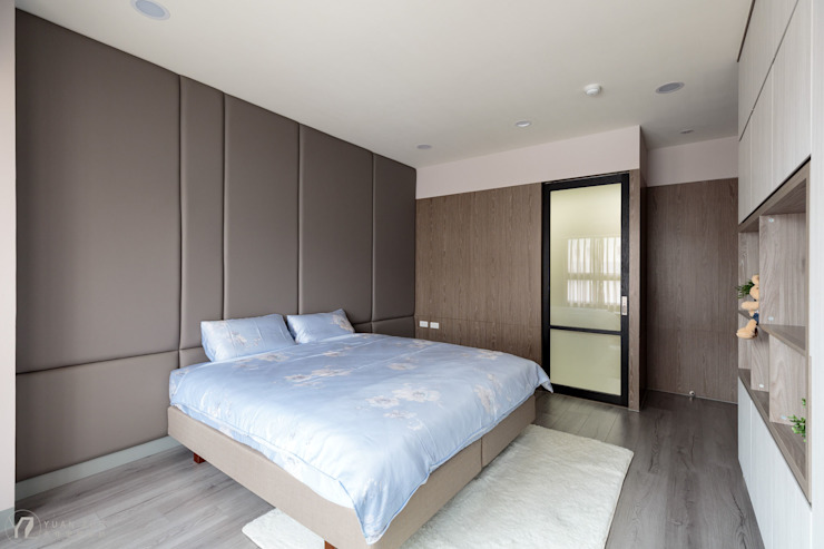 主臥/床頭背牆 根據 元作空間設計 現代風