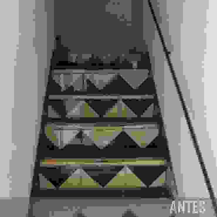 Antes - Escalera Divers Arquitectura, especialistas en Passivhaus en Sabadell