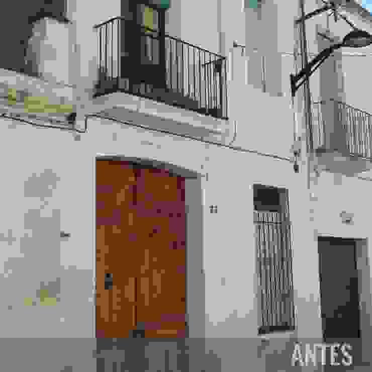 Antes - Fachada principal Divers Arquitectura, especialistas en Passivhaus en Sabadell
