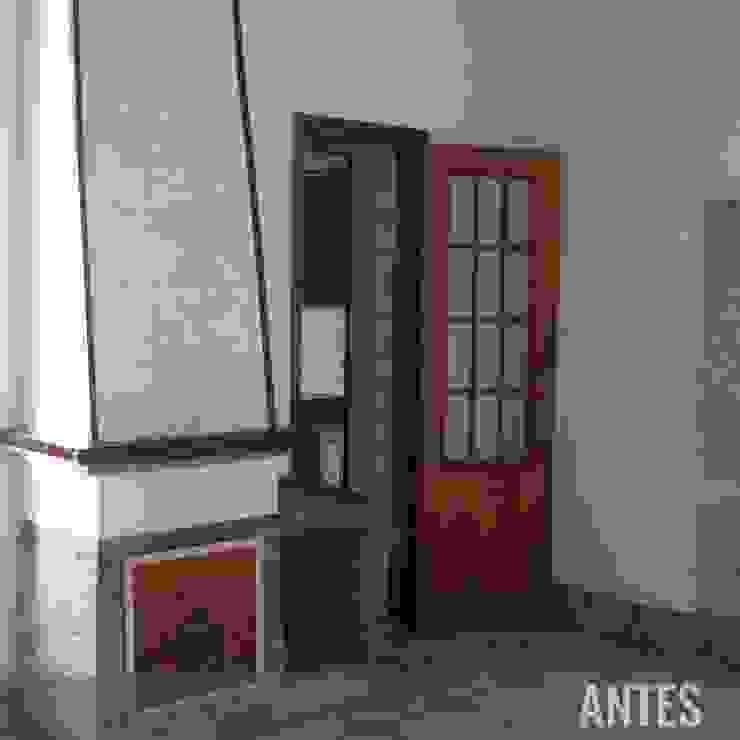 Antes - Comedor Divers Arquitectura, especialistas en Passivhaus en Sabadell