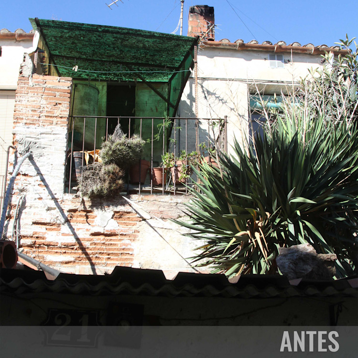 Antes - Terraza Divers Arquitectura, especialistas en Passivhaus en Sabadell