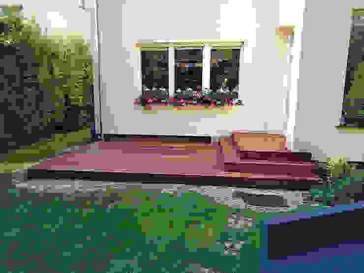 Taras drewniany. Realizacja w Zielonej Górze PHU Bortnowski