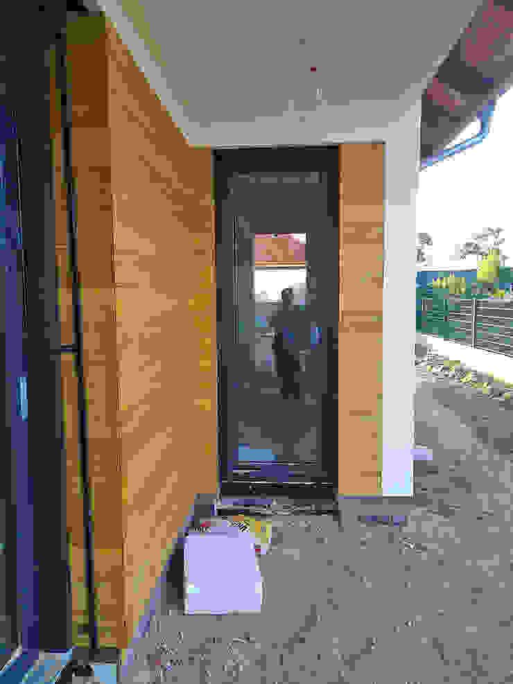 Elewacja drewniana. Realizacja w Kostrzynie PHU Bortnowski