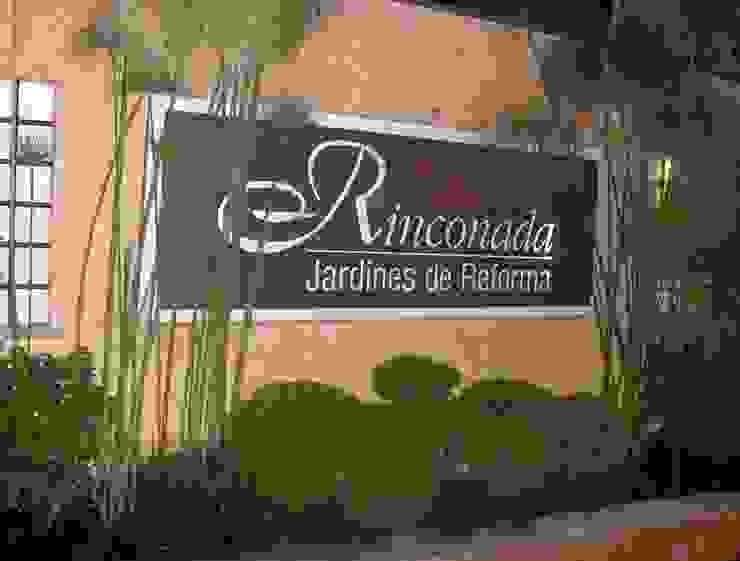 Jardines de Reforma : Casas multifamiliares de estilo  por A+P Arquitectos, El arte de crear espacios,